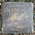 Stolperstein-Juda Moses Moritz Ziegellaub-Koeln-cc-by-denis-apel.jpg