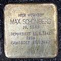 Stolperstein Flemingstr 14 (Moabi) Max Schönberg.jpg