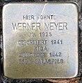Stolperstein Kleve Herzogstraße 29 Werner Meyer.jpg