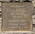 Stolperstein Prinzenallee 58 (Gesbr) Ella Gattel.jpg