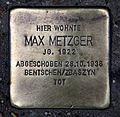 Stolperstein Sophienstr 22 (Mitte) Max Metzger.jpg
