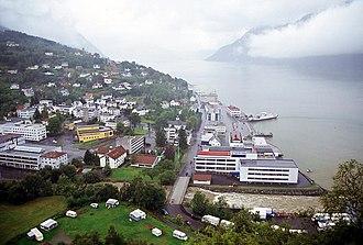 Stranda - View of the village of Stranda