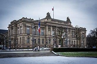 Place de la République (Strasbourg) - Théâtre national de Strasbourg