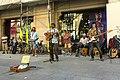 Street musicians in Barcelona, May, 2017.jpg