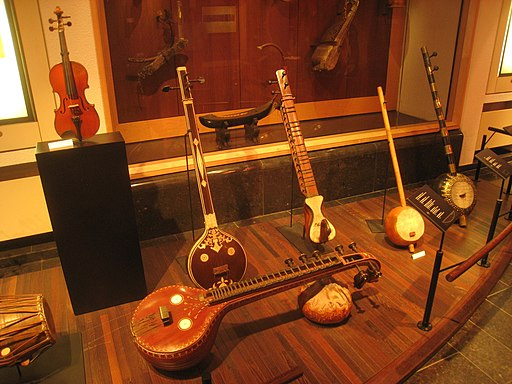 Stringed instruments - Musical Instrument Museum, Brussels - IMG 3994