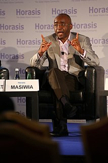 Strive Masiyiwa Zimbabwean businessman