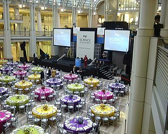 Regeneron Science Talent Search - The 2002 Intel Science Talent Search finalist banquet, held at the Ronald Reagan Building in Washington, DC, where the ten winners were announced and all 40 finalists were acknowledged.