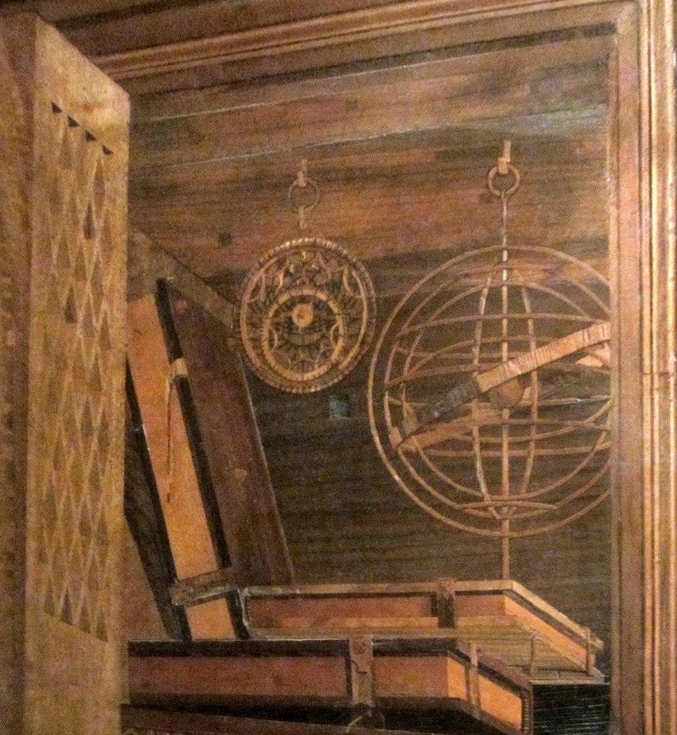 Studiolo de Federico da Montefeltro - detalhe