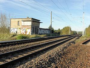 Stellwerk Fichtengrund - Image: Stw Fichtengrund 2011