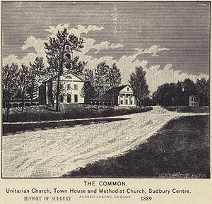 Sudbury Center Historic District - First Parish of Sudbury