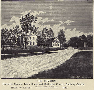 Sudbury Center Historic District United States historic place