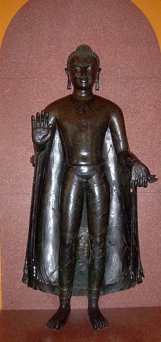 Sultanganj Buddha - Image: Sultanganj budda 1