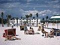 Sunbathers at Lido Beach, Florida (9552930945).jpg