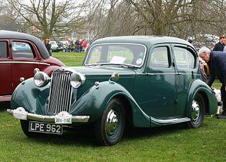 Sunbeam-Talbot Ten - Image: Sunbeam Talbot Ten registered May 1947 1185cc