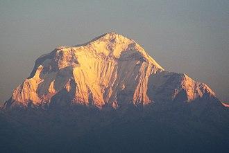 Dhaulagiri - Dhaulagiri at sunrise