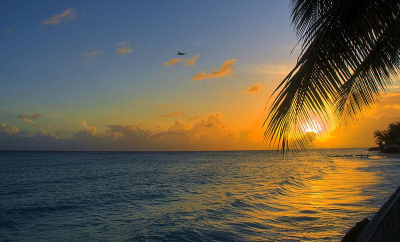 File:Sunset, Barbados (6885760644).jpg