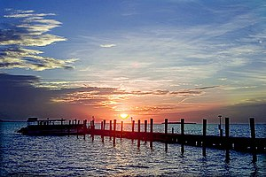 Key Largo - December sunset, Key Largo