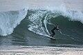Surfer at Morro Rock, CA, 11 Dec 2009.jpg