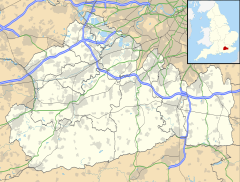 Horley is located in Surrey