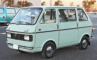 Suzuki Carry - 1969–1972 Suzuki Carry Van L40
