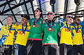 Sweden national under-21 football team celebrates in June 2015-5.jpg