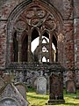 Sweetheart Abbey, eastern window - geograph.org.uk - 1716738.jpg