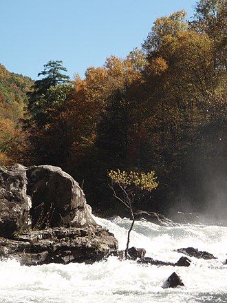 Gauley River - Sweet's Falls on the Gauley River