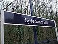 Sydenham Hill stn signage.JPG