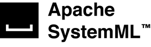 Apache SystemML - Logo for the Apache SystemML project.