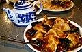 Szechuan style boiled jiaozi in Kichijoji, Tokyo.jpg