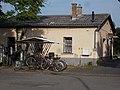Szentes 2 post office and bicycle shelter, 2019 Szentes.jpg