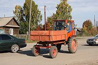 T-16 tractor in Tomsk oblast.JPG