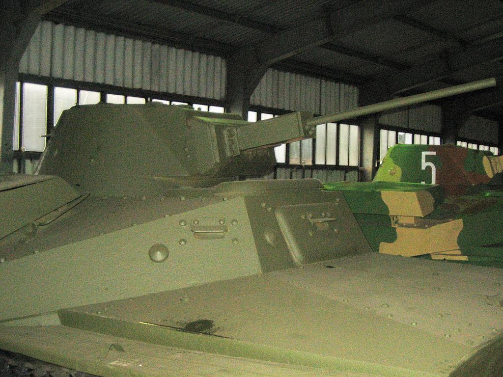 T-40 turret detail