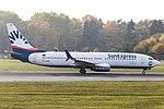 TC-SOD Boeing 737-800 SunExpress HAM 2018-11-06 (1) (44840660115).jpg
