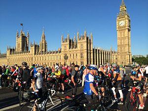 Transcontinental Race - Start of the 2014 Transcontinental Race