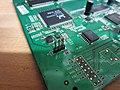 TL-WR1043-ND V1 Board UART Pins Front.jpg