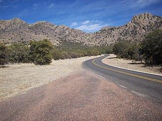 Texas State Highway 166 - Image: TX 166 Sawtooth Mountain