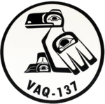 Tactical Electronic Warfare Squadron 137 (US Navy) patch 1991.png