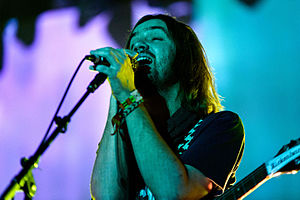 Currents (Tame Impala album) - Kevin Parker (pictured in 2015) recorded, produced and mixed Currents.