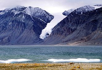 Quttinirpaaq National Park - Image: Tanquary Fiord 16 1997 08 05