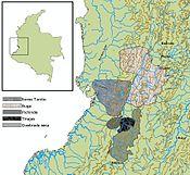 Ubicación geográfica periodo Tardío II (1400-1600)