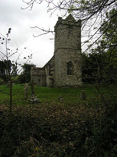 St Mary the Virgin, Tarrant Crawford church in North Dorset, UK
