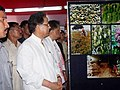 Tarun Gogoi and the Minister of State for Heavy Industries & Public Enterprises, Shri Santosh Mohan Dev visit a stall at the Public Information Campaign on Bharat Nirmaan organized by Press Information Bureau in Upharli.jpg