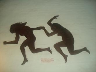 Guarani mythology - Tau pursuing by Kerana