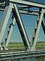Tczew, příhradová konstrukce železničního mostu.JPG