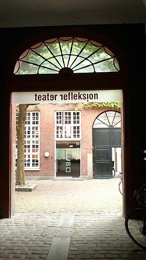 Frederiksgade, Aarhus - Image: Teater Reflektion 01