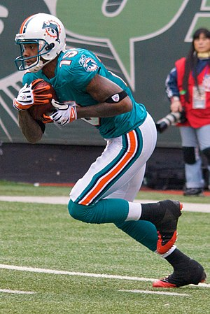 Ted Ginn Jr. - Ginn playing against the Jets in 2009.