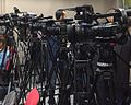 Television cameras at Press conference in Sarajevo.jpg