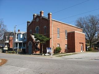 Temple Israel (Lafayette, Indiana) United States historic place