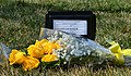 Temporary marker - USS Monitor Unknown Dead - Arlington National Cemetery - 2013-03-15.jpg